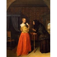 Bathsheba Receiving David's Letter