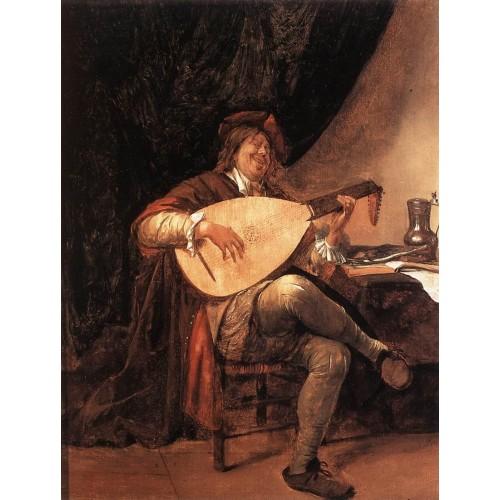 Self Portrait as a Lutenist