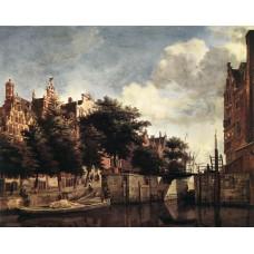 The Martelaarsgracht in Amsterdam