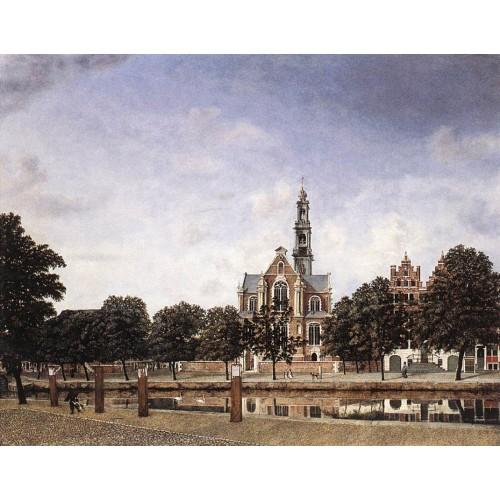 View of the Westerkerk Amsterdam 1