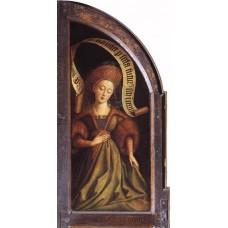 The Ghent Altarpiece Cumaean Sibyl