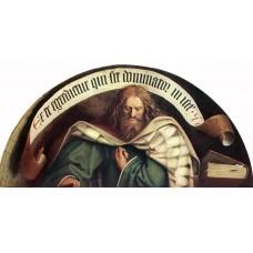 The Ghent Altarpiece Prophet Micheas