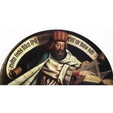 The Ghent Altarpiece Prophet Zacharias
