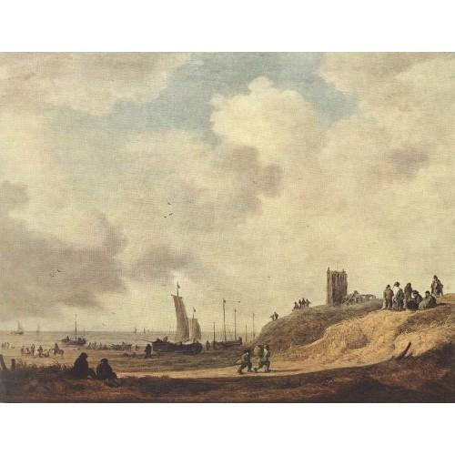 Seashore at Scheveningen