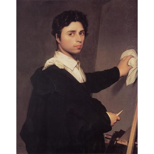 Copy after Ingres's 1804 Self Portrait
