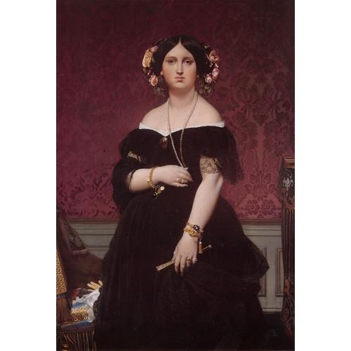 Madame Paul Sigisbert Moitessier Standing