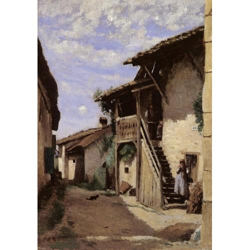 A Village Steeet Dardagny