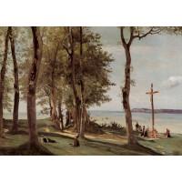 Honfleur Calvary on the Cote de Grace