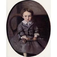 Maurice Robert as a Child