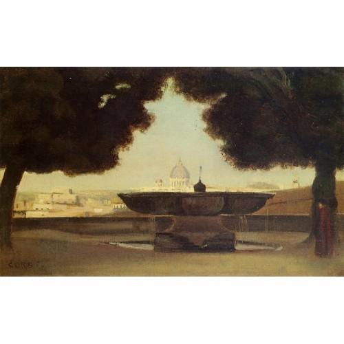 Rome The Fountain of the Academie de France