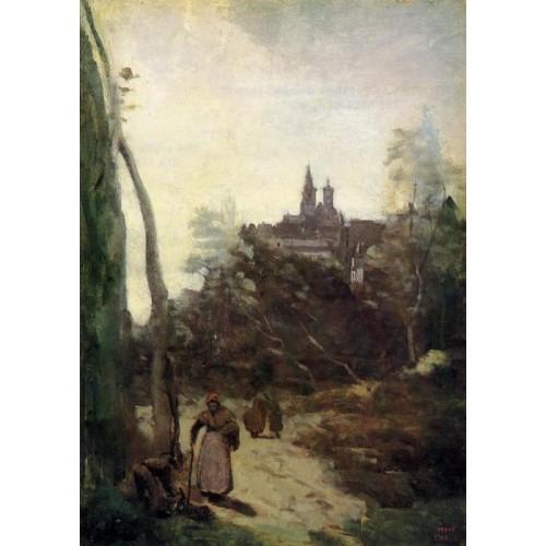 Semur the Path from the Church