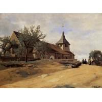 The Church at Lormes