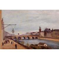 The Pont au Change and the Palais de Justice