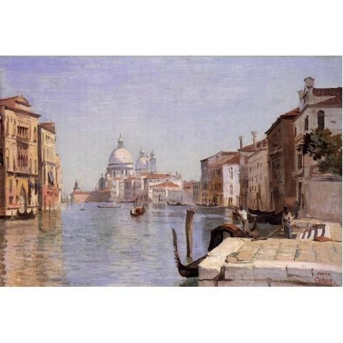 Venice View of Campo della Carita from the Dome of the Sal