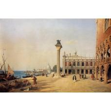 Venice View of the Esclavons Quay