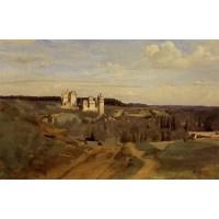 View of Pierrefonds