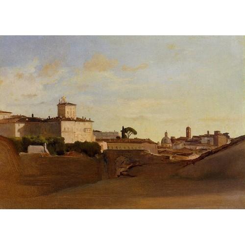View of Pincio Italy