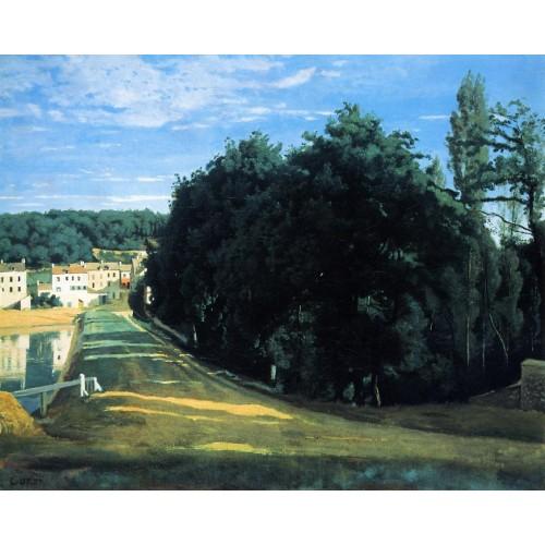 Ville d'Avray The Chemin de Corot
