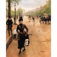 La Modiste Sur Les Champs Elysees
