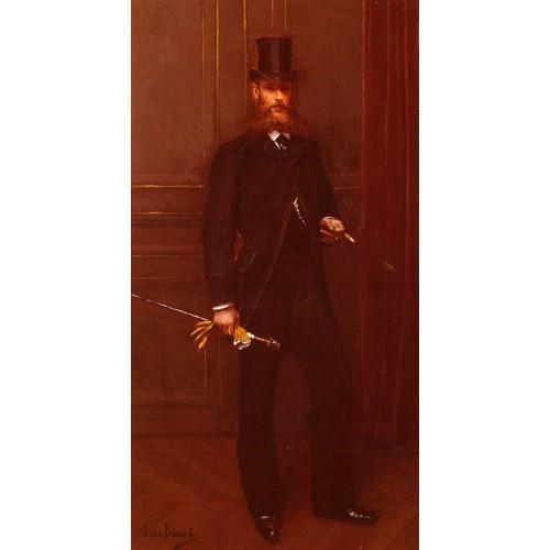 Portrait D'un Homme Elegant