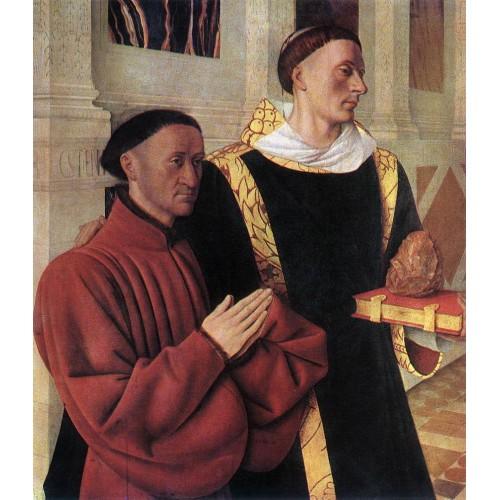 Estienne Chevalier with St Stephen