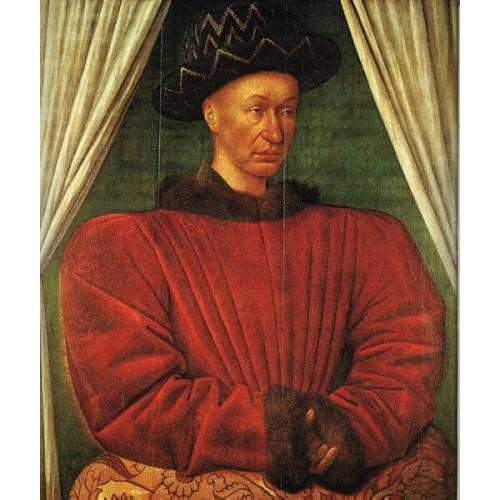 Portrait of Charles VII of France
