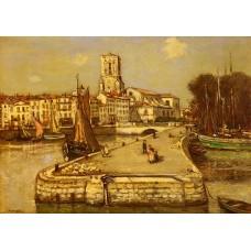 A Sunlit Port