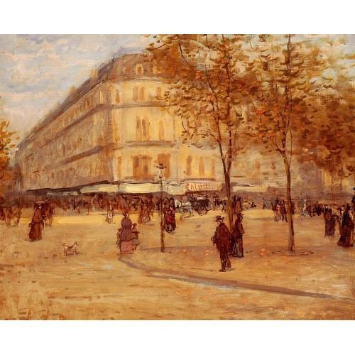 Place Du Theature Francais Paris