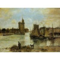 The Port of La Rochelle in Autumn