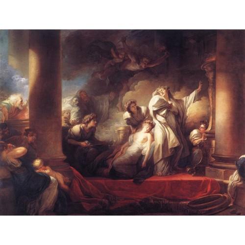 Coresus Sacrificing himselt to Save Callirhoe