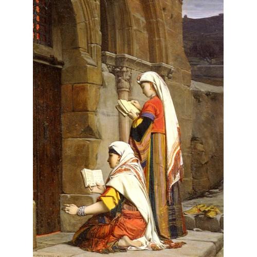Christian Women at the Tomb of the Virgin Jerusalem