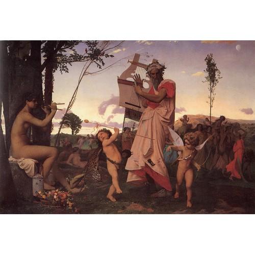 Anacreon Bacchus and Cupid