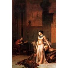 Cleopatra before Caesar