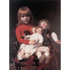 Madeleine Juliette Gerome and Her Dolls