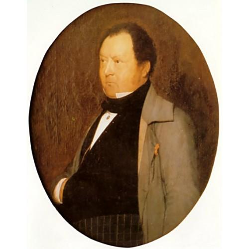 Portrait of M Leblond