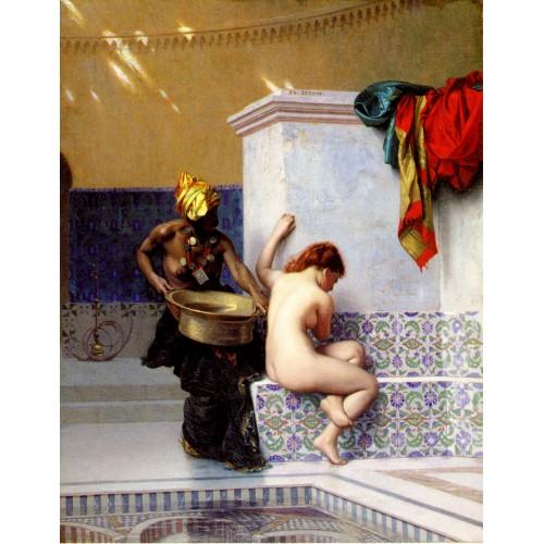 Two Women at Turkish Bath