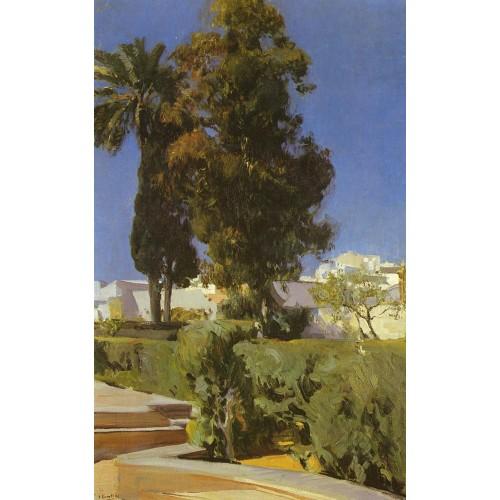 Gardens of the Alcazar (Sevilla)