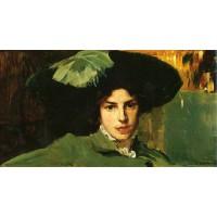 Maria con Sombrero