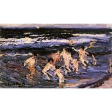 Ninos en el Mar