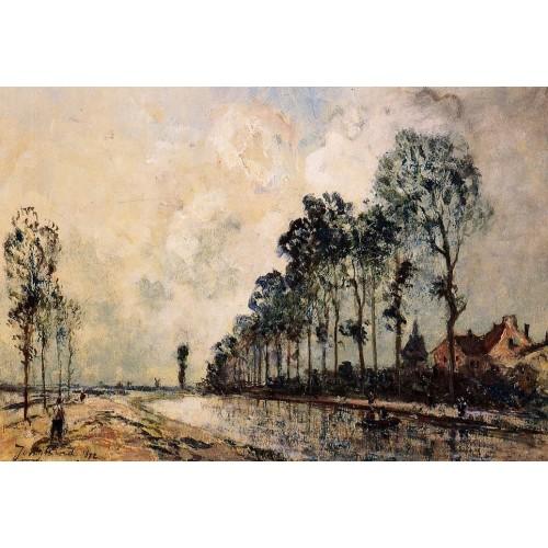 The Ourcq Canal Aisne