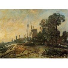 Windmill near the Water