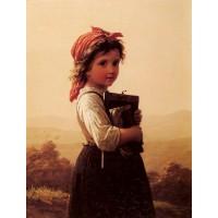 A Little Schoolgirl