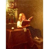 The Reading Girl 1