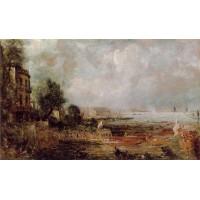 The Opening of Waterloo Bridge