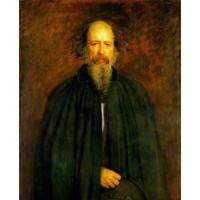 Portrait of Lord Alfred Tennyson