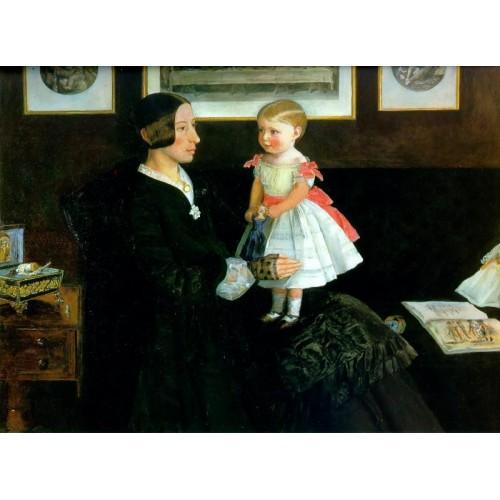 Portrait of Mrs James Wyatt