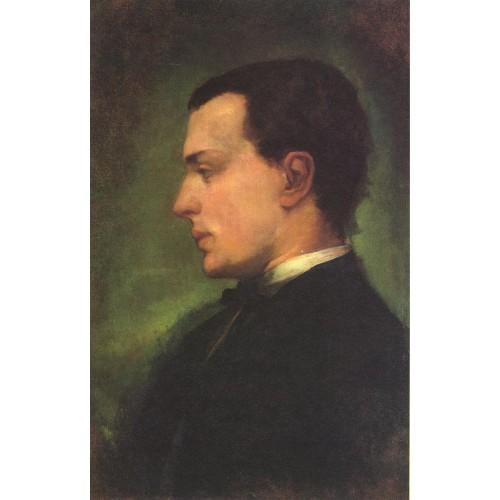 Portrait of Henry James the novelist