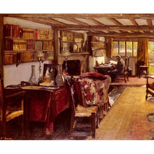 A Writing Room At The Wharf Sutton Courtenay