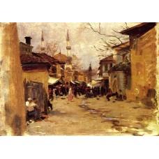 Arab Street Scene