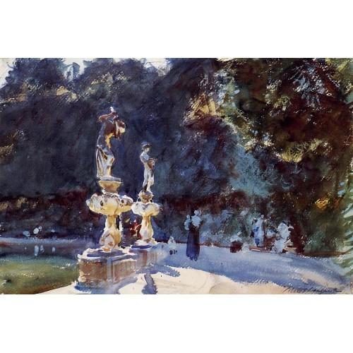 Florence Fountain Boboli Gardens